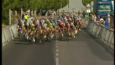 Vuelta: Laatste kilometer van de 16e rit