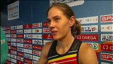 Sara Aerts: &#034;Na 400m was het helemaal op&#034;