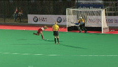 Hockeyverslag van Belgi-Ierland (1-1)