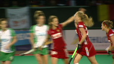 Hockey: Belgisch doelpunt tegen Ierland