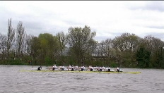"Roeiwedstrijd ""Boat Race"" vol incidenten"