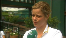 Is Clijsters fit voor Wimbledon?