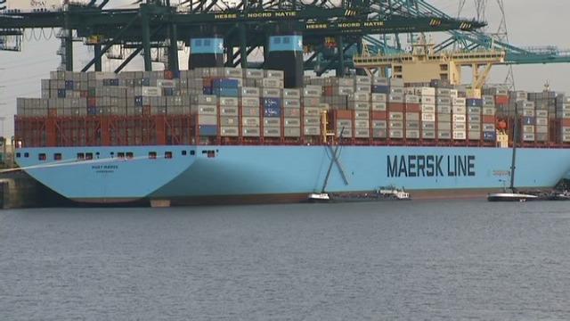 Video anvers accueille le plus grand porte conteneurs au monde - Porte conteneur le plus grand ...