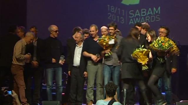 Eerste Sabam Awards uitgereikt in zaal Roma Antwerpen