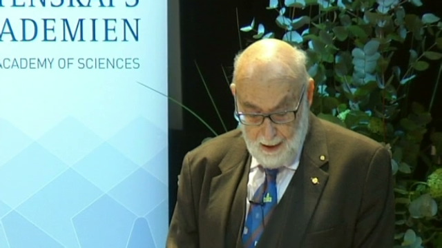 [VIDEO] - A Nobel Prize lecture in Stockholm
