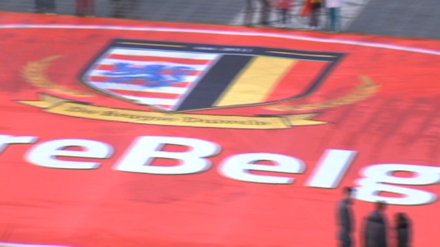 "[VIDEO] - ""The biggest football flag ever made in Belgium"""
