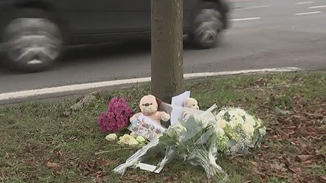 Accident de voiture adolescente tuée