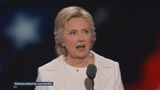 "Hillary Clinton: ""Amerikanen lossen het samen op"""