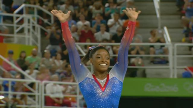 sanne wevers olympische spelen oefening