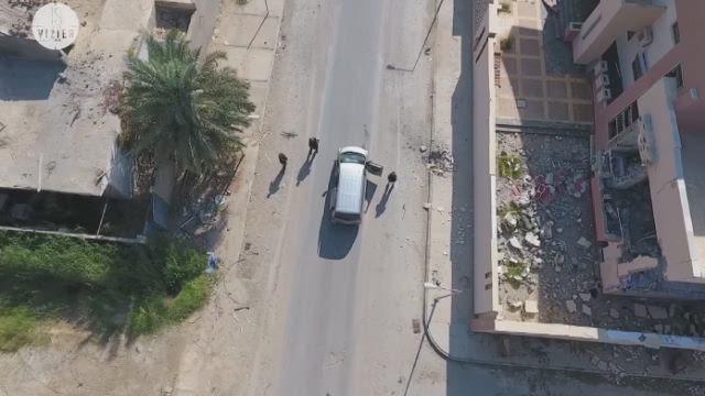 [VIDEO] - Beklijvende dronebeelden van Sirte, vlak voor slotoffensief