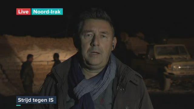[VIDEO] - Rudi Vranckx staat aan het front nabij Mosul