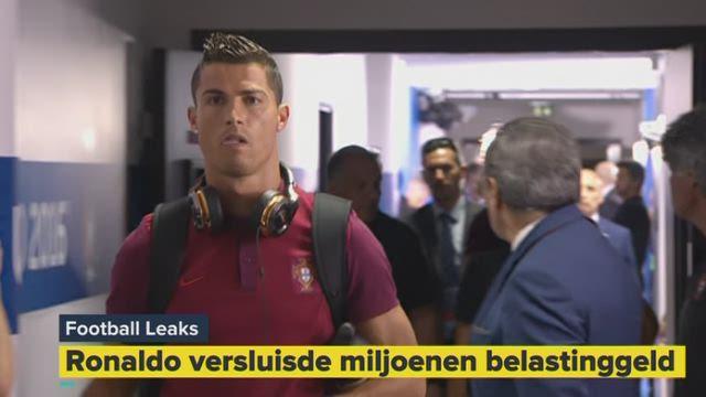 Ook voetballers als Ronaldo sluizen miljoenen door naar belastingparadijzen