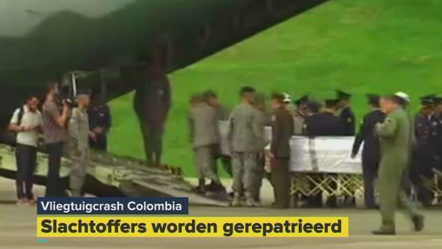 slachtoffers vliegramp columbia