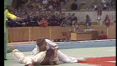 Judoka Van de Walle wint goud in Moskou 1980