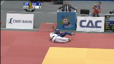 Charline Van Snick pakt zilver op EK judo