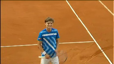 Goffin stunt op Roland Garros tegen Stepanek