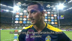 Reacties Blanc en Ibrahimovic