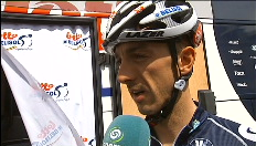 Interviews voor de start van de derde rit