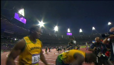 Usain Bolt is ook de snelste op de 200 meter