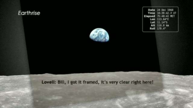 aarde vanaf maan