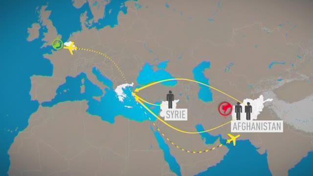 waar vluchtelingen italie