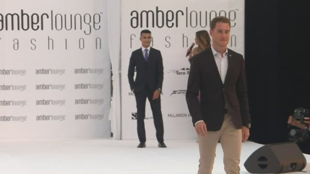 [VIDEO] - Vandoorne leaves comfort zone to show up on catwalk