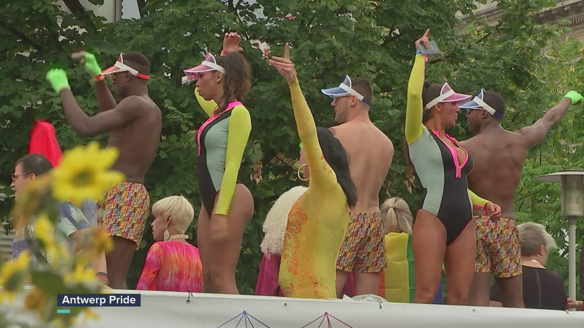 Recordaantal delegaties stappen mee in 10e Antwerp Pride